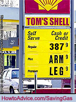 Arm and Leg Gas Prices